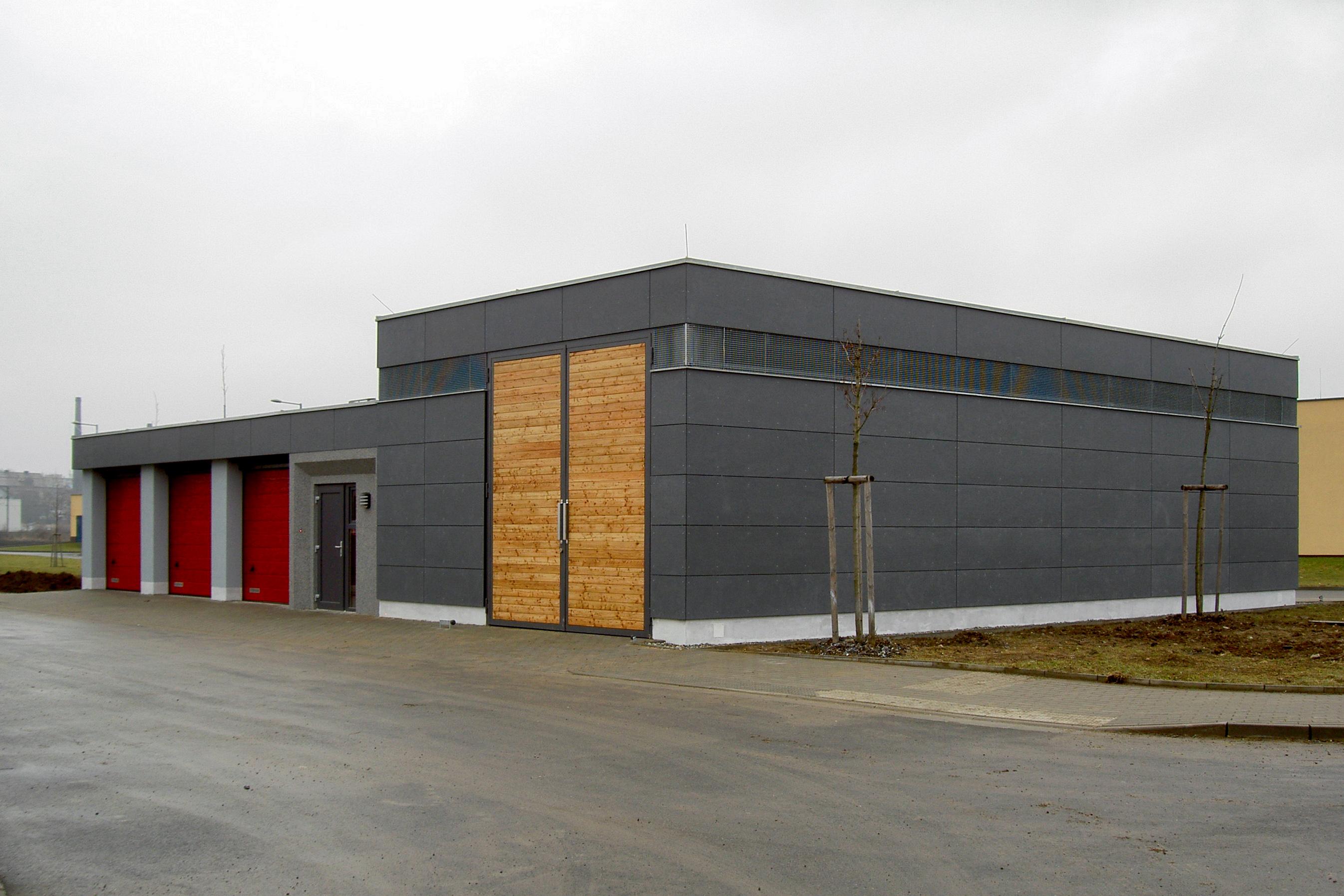 Garáže Regionálního centra pokročilých technologií a materiálů Olomouc