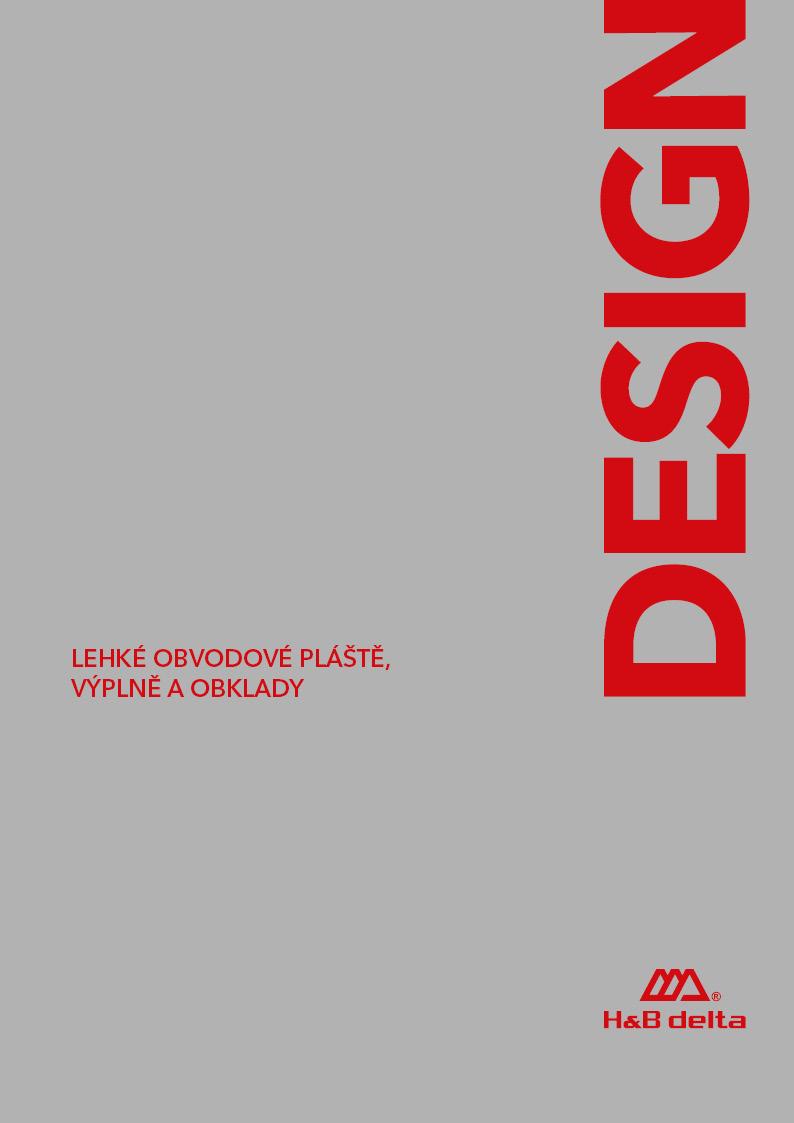 Katalog Design 2017 (Lehké obvodové pláště, výplně a obklady)