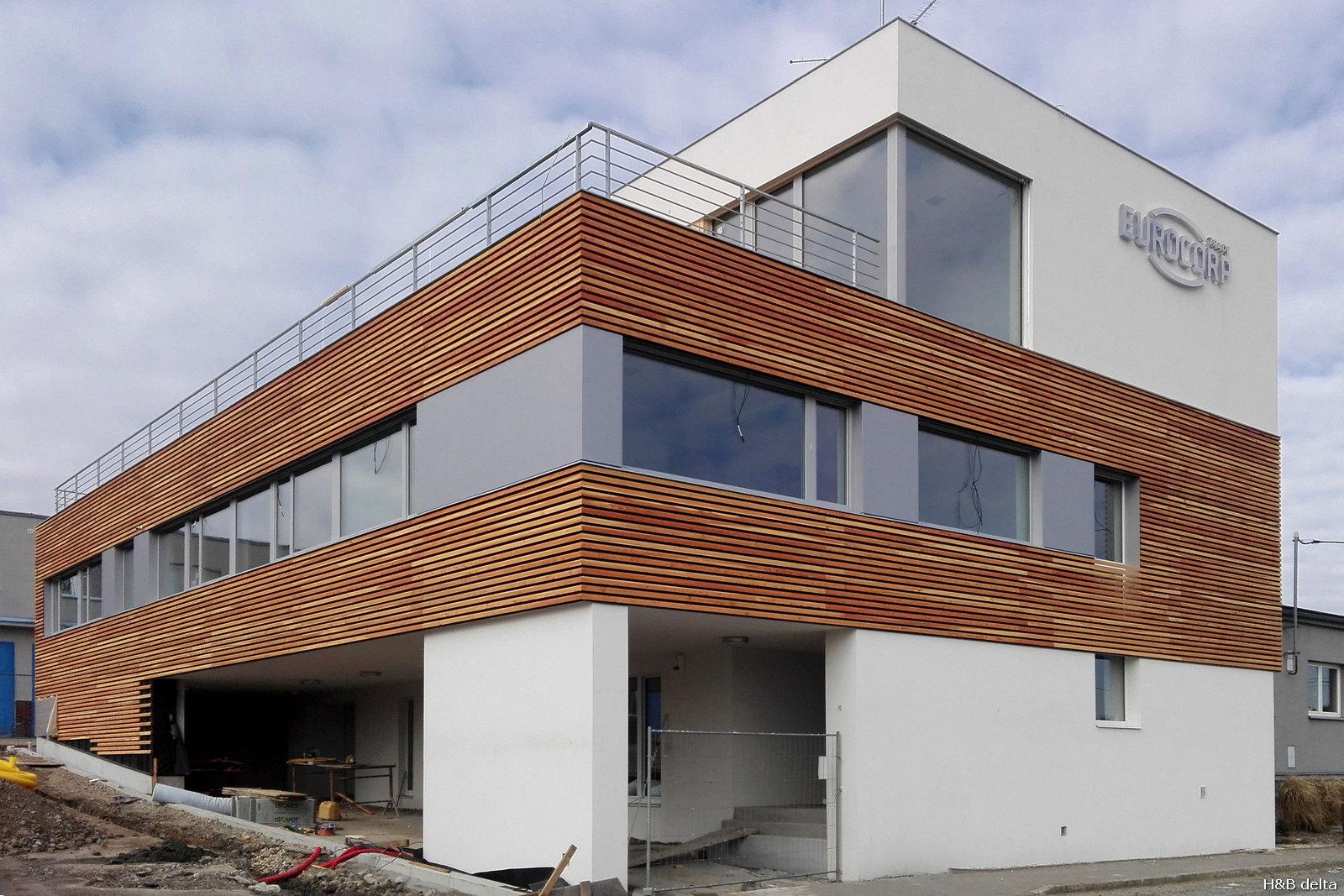 Budova společnosti Eurocorp získala jednu z cen v soutěži Pasivní dům 2018