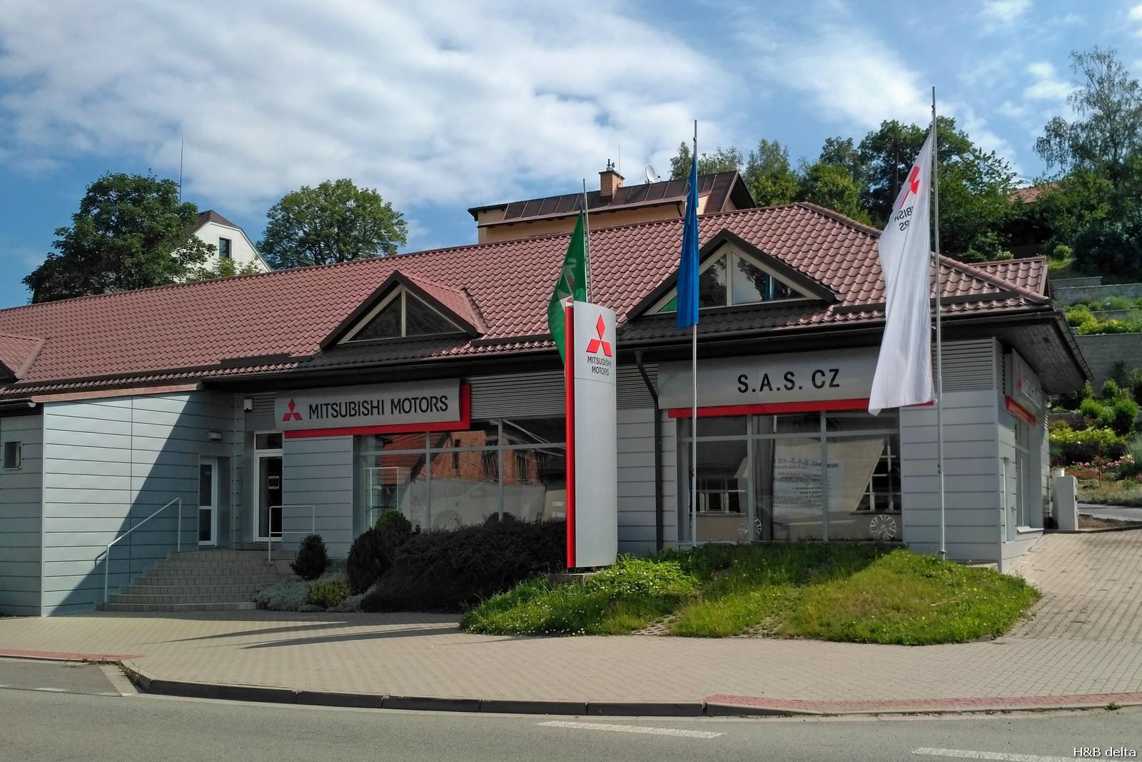 S.A.S. cz Mitshubishi Motors Česká Třebová