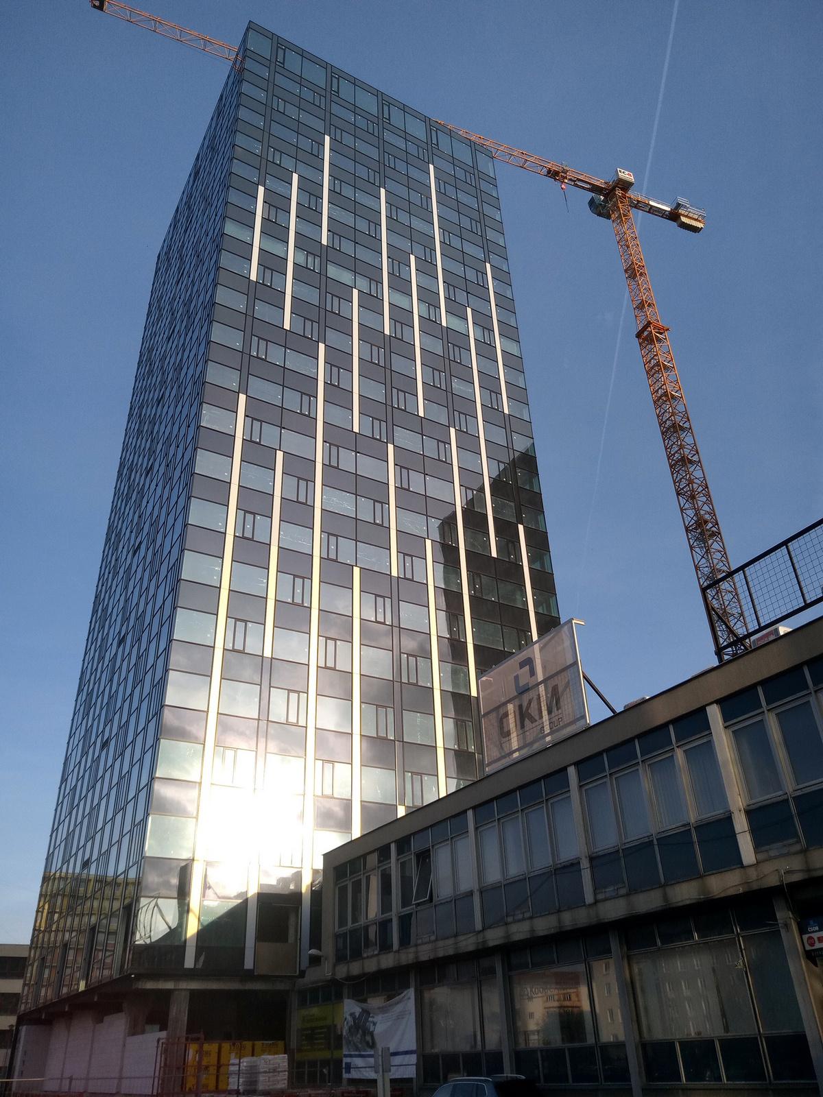 Agrie Office – věž B (Šumavská tower)