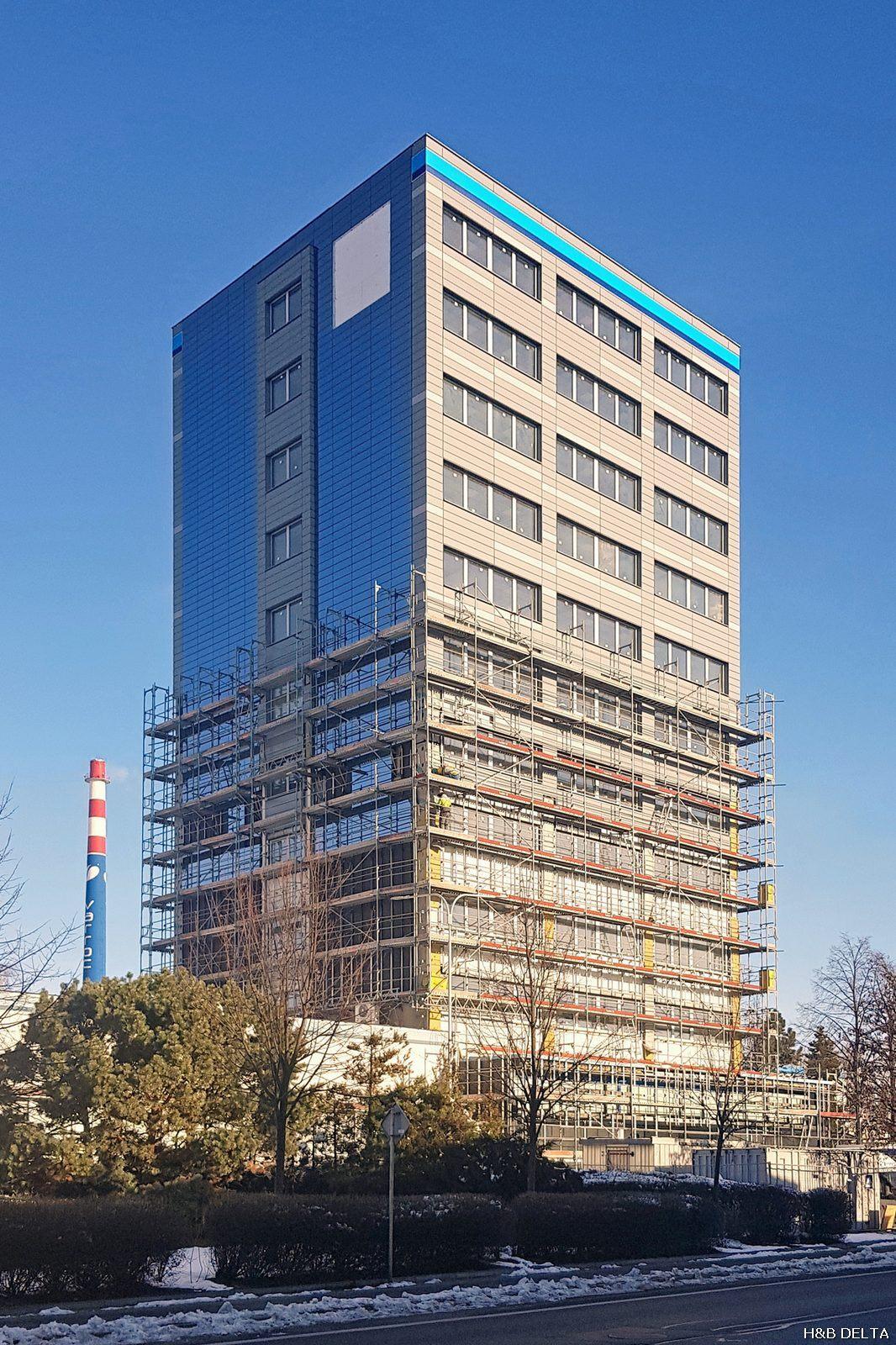 Nová fasáda Varrocku získává svou podobu