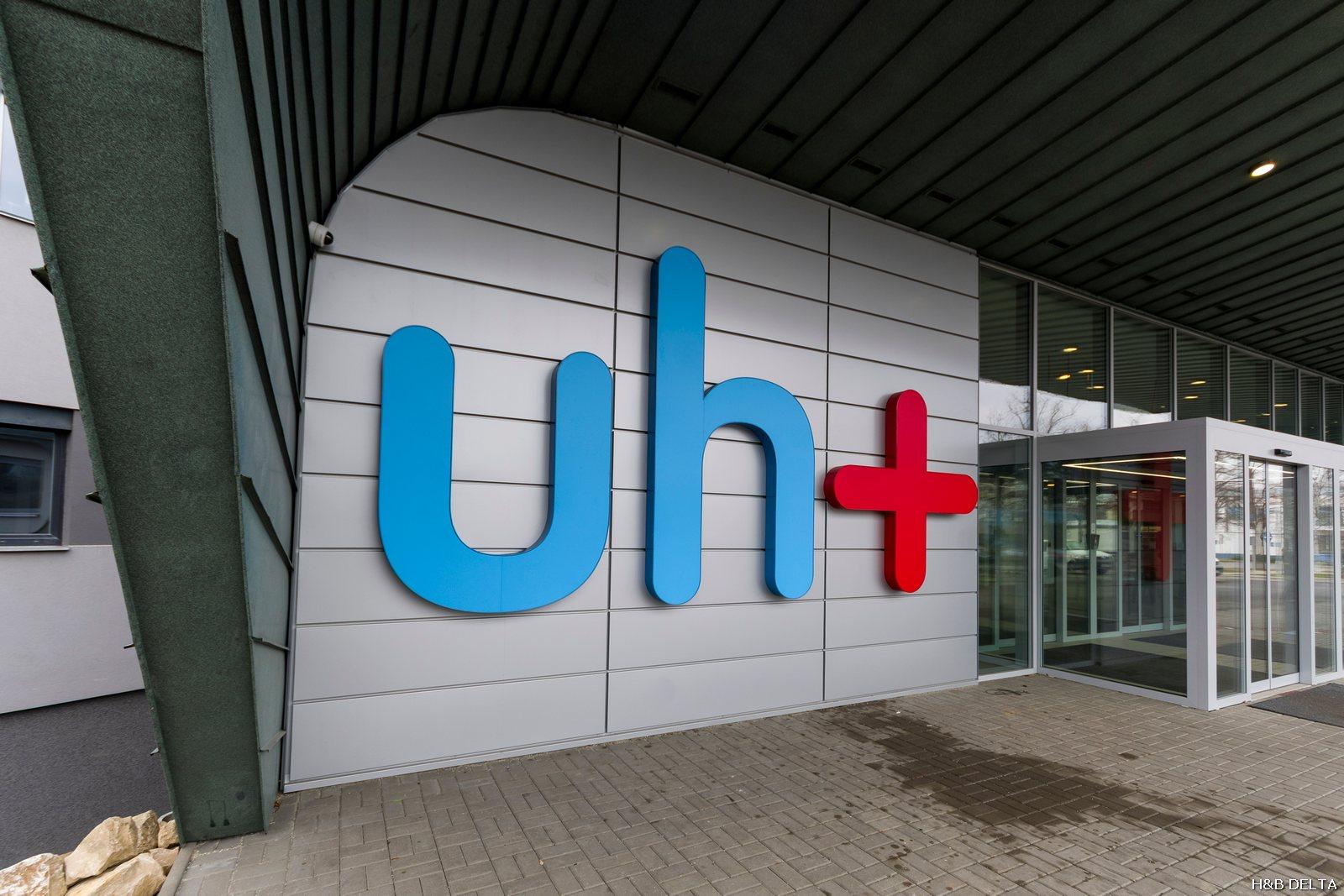 Vstup nemocnice Uherské Hradiště