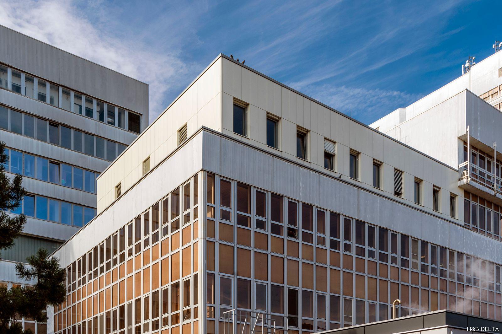Brno - Fakultní nemocnice Bohunice - pavilon CH