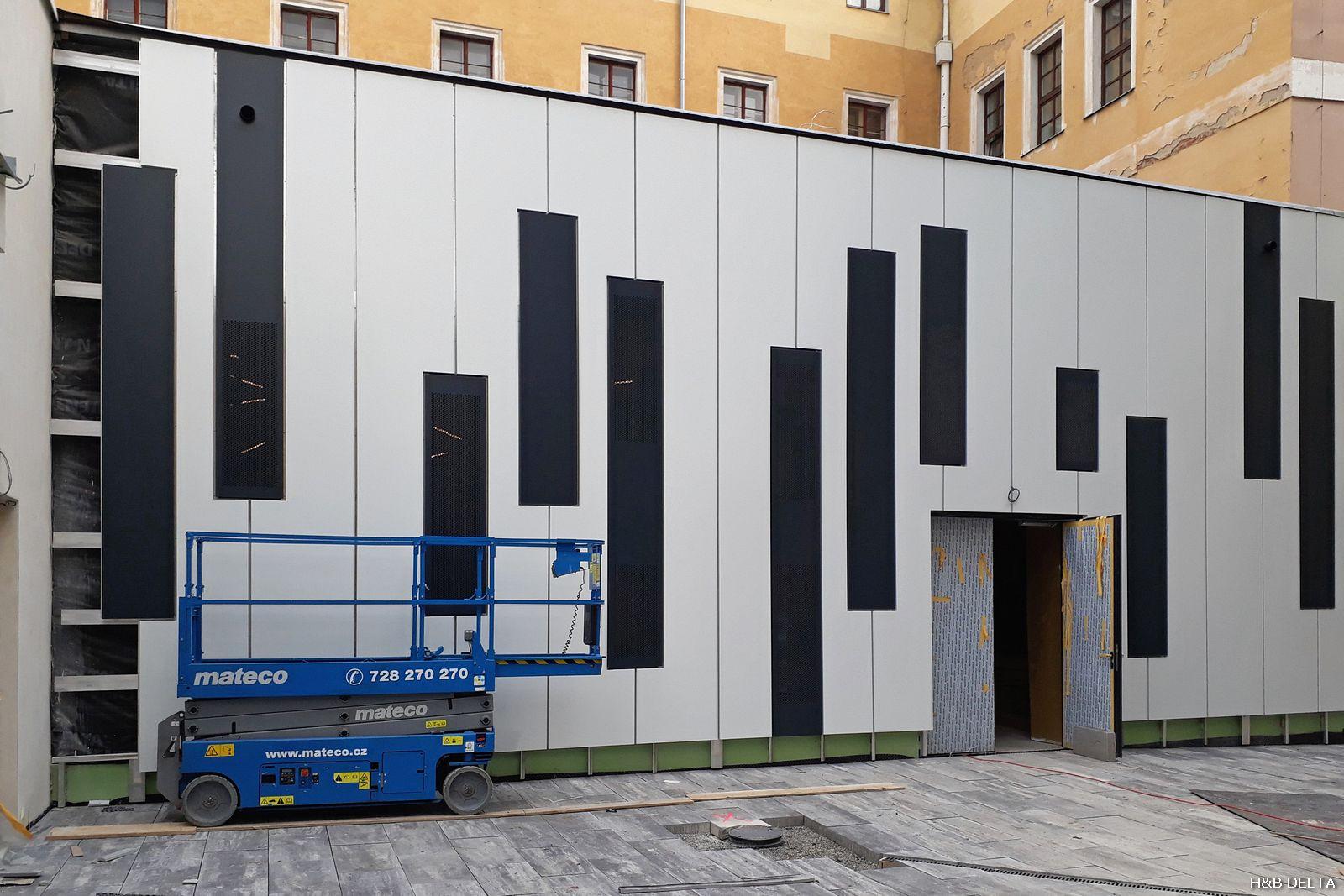 Brno - Konzervatoř - koncertní sál